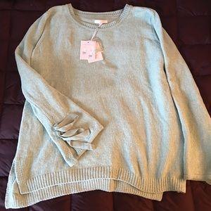 LC Lauren Conrad Chenille Sweater